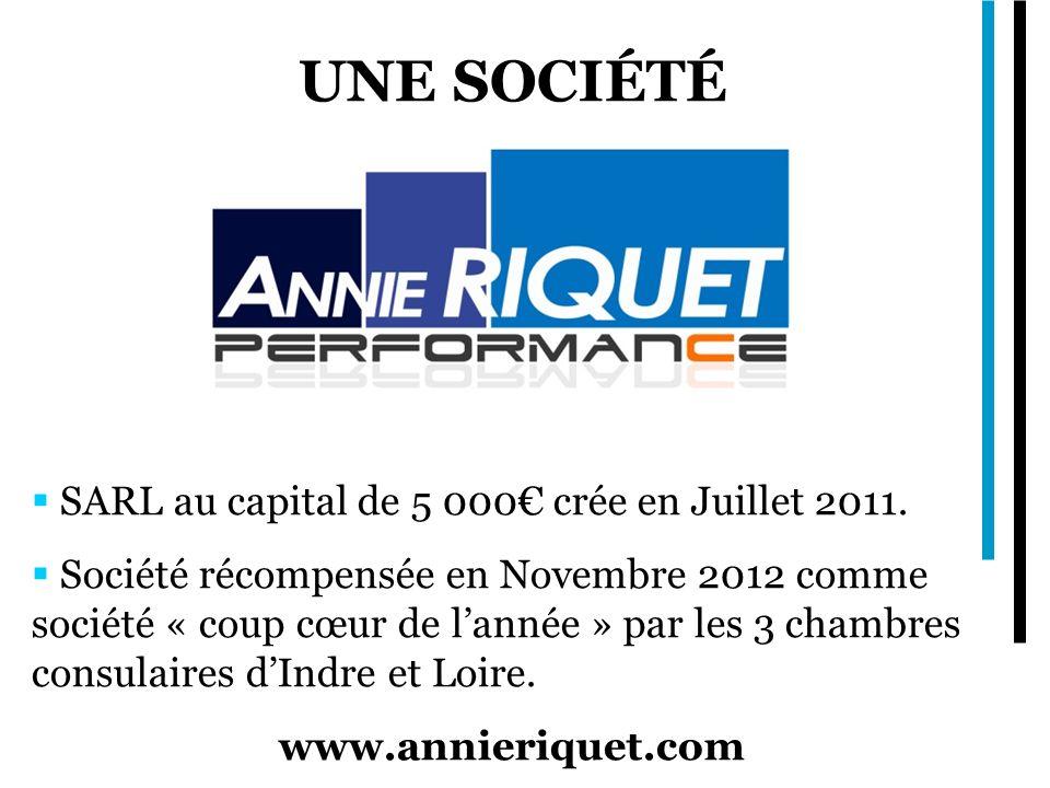 Une société SARL au capital de 5 000€ crée en Juillet 2011.