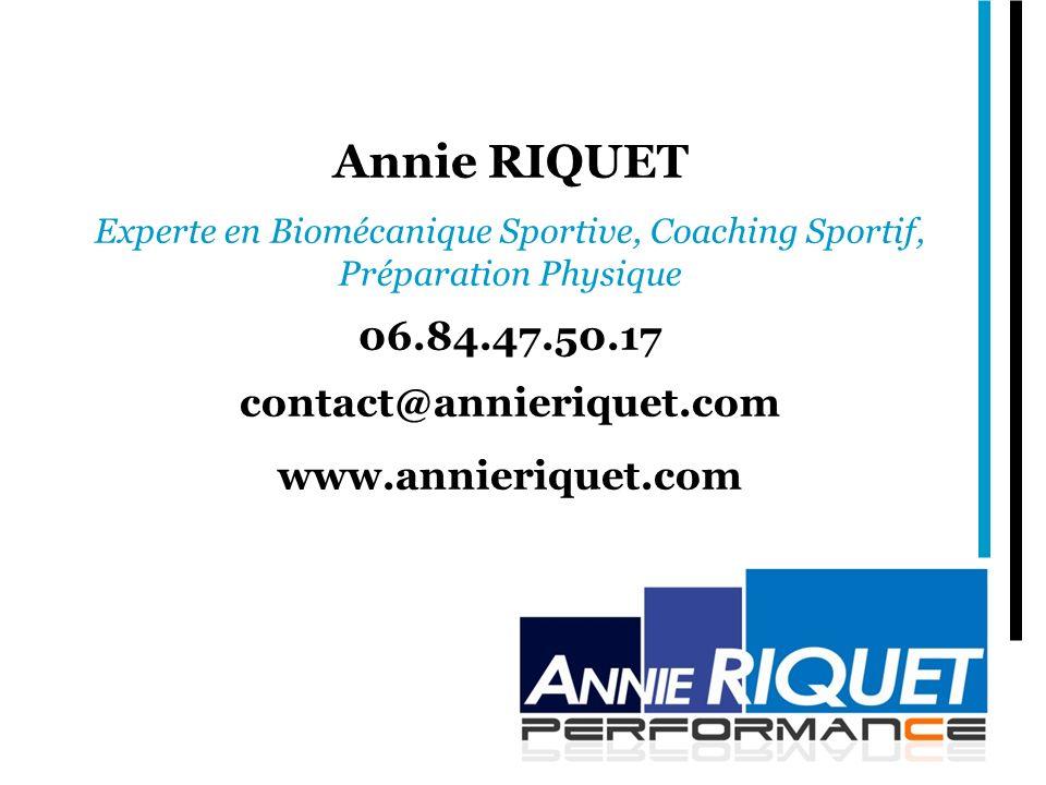 Annie RIQUET 06.84.47.50.17 contact@annieriquet.com
