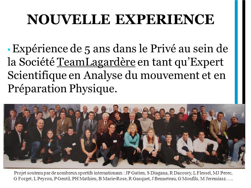 NOUVELLE EXPERIENCE