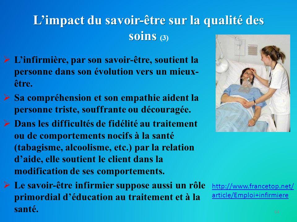 L'impact du savoir-être sur la qualité des soins (3)
