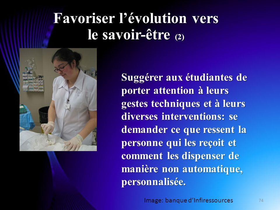 Favoriser l'évolution vers le savoir-être (2)