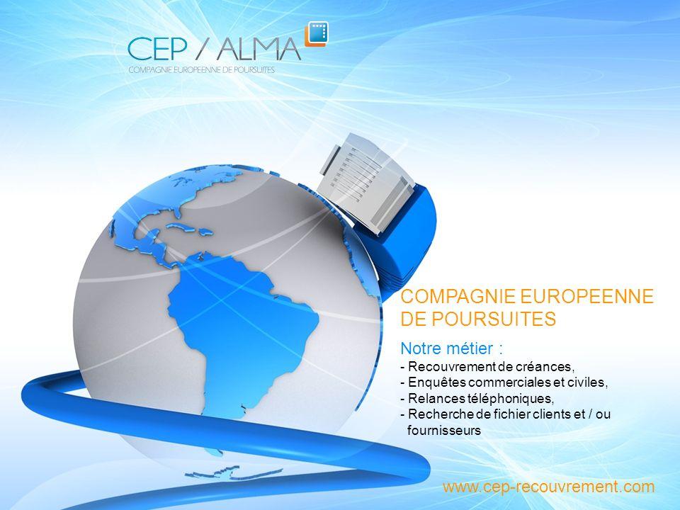 Présentation du Cabinet CEP / ALMA