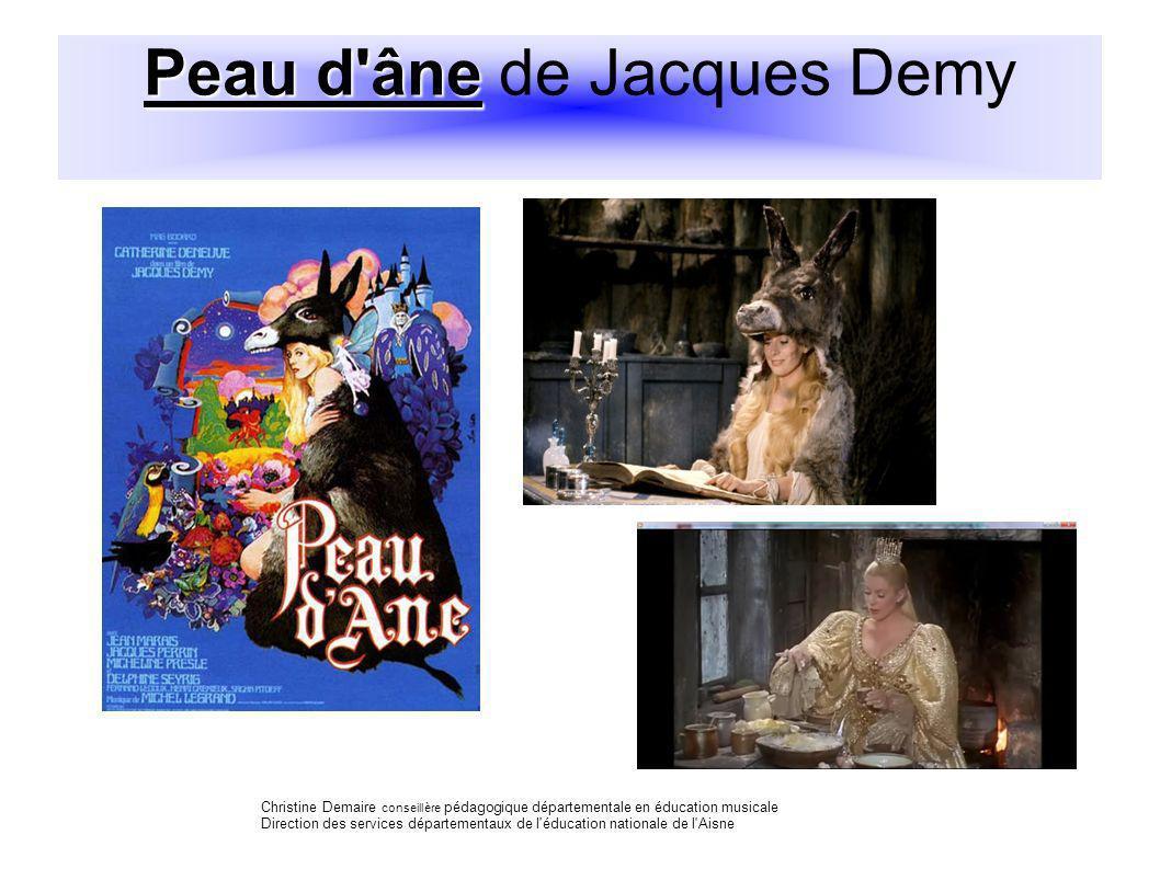 Peau d âne de Jacques Demy