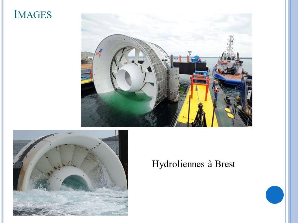 Images Hydroliennes à Brest