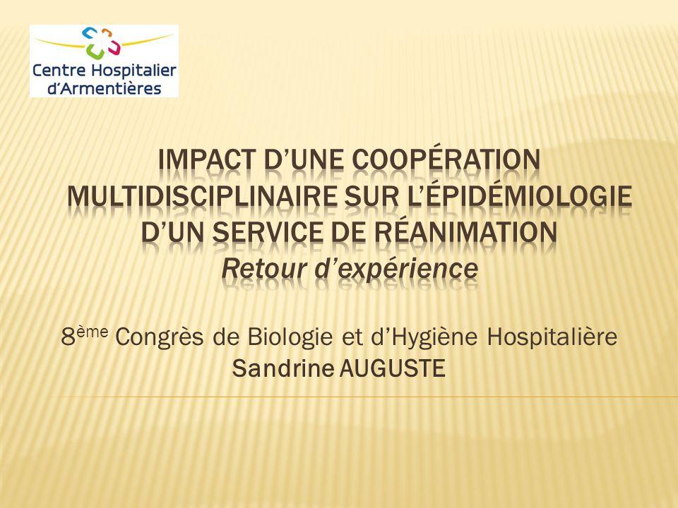 8ème Congrès de Biologie et d'Hygiène Hospitalière Sandrine AUGUSTE