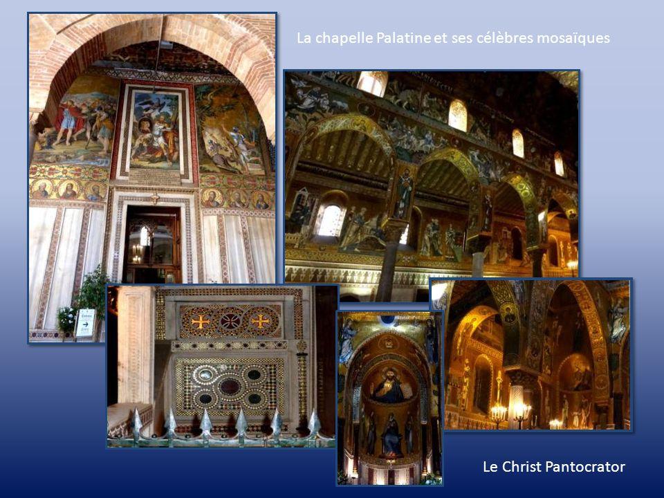 La chapelle Palatine et ses célèbres mosaïques