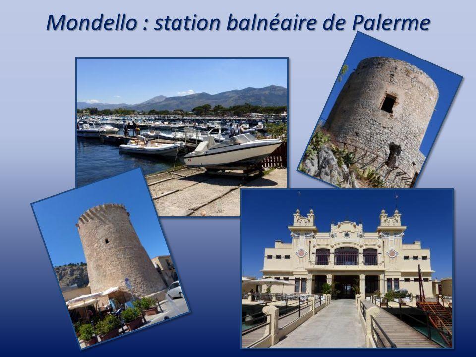 Mondello : station balnéaire de Palerme