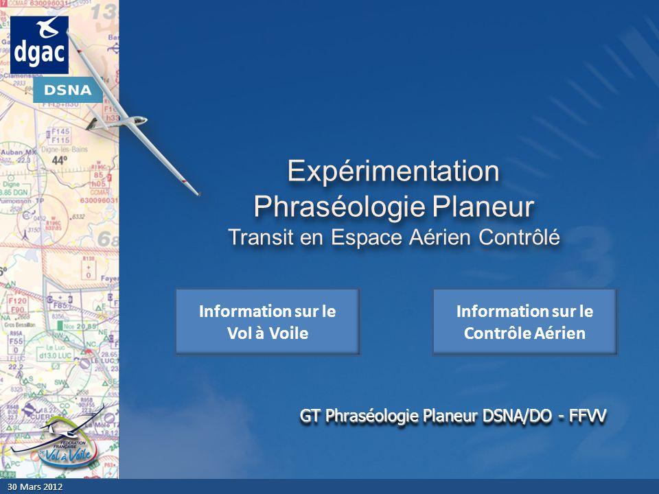 Expérimentation Phraséologie Planeur Transit en Espace Aérien Contrôlé