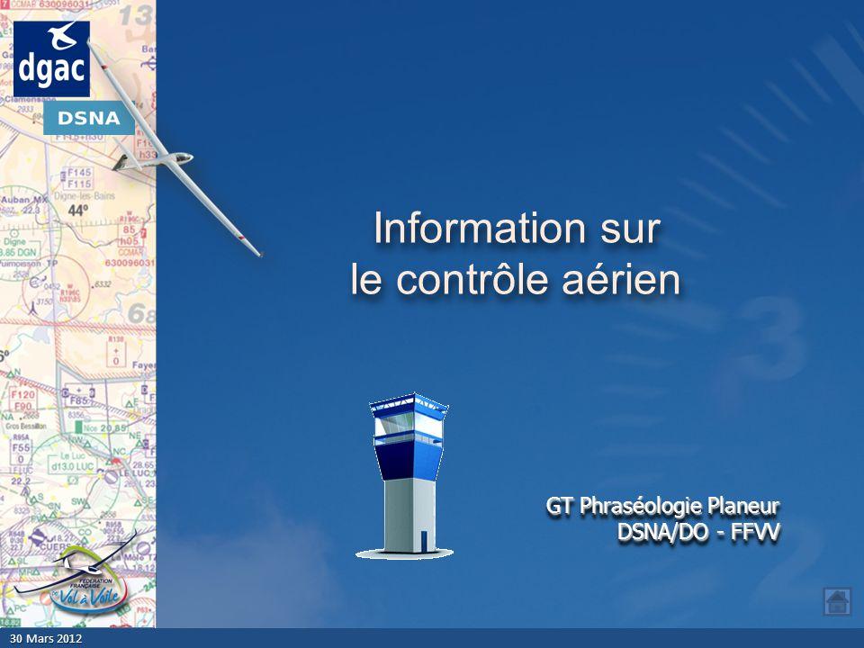 Information sur le contrôle aérien