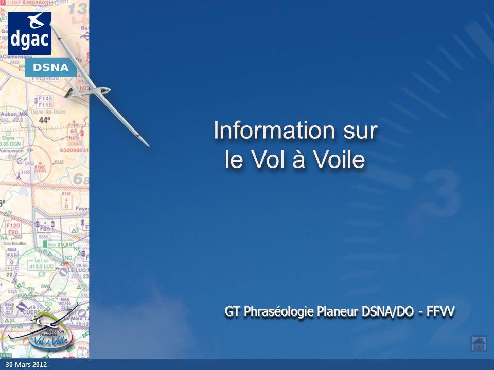 Information sur le Vol à Voile