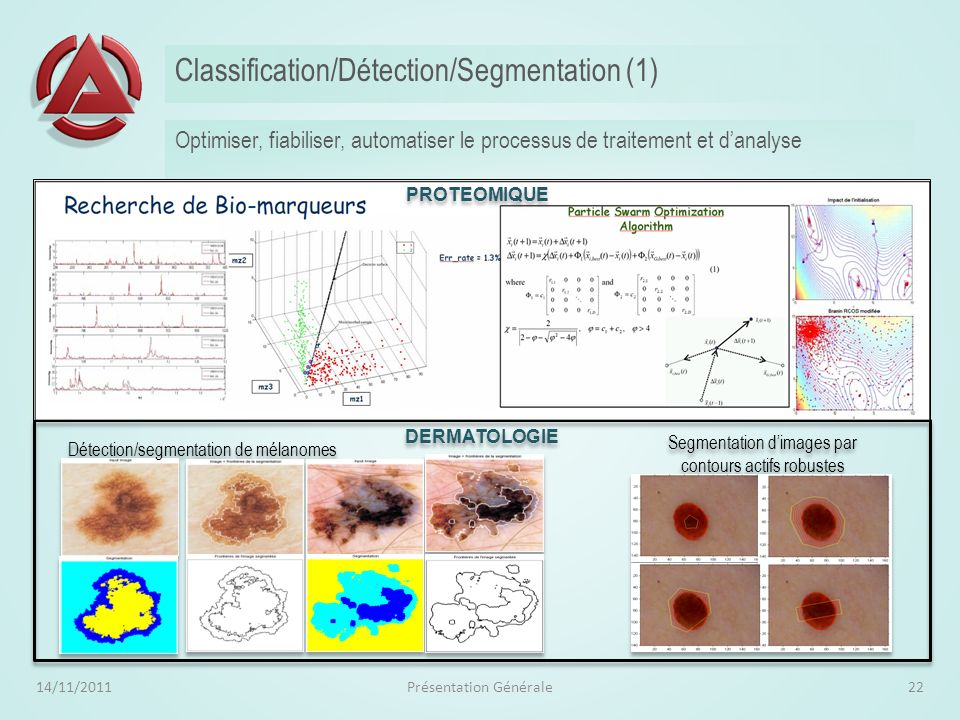 Classification/Détection/Segmentation (1)