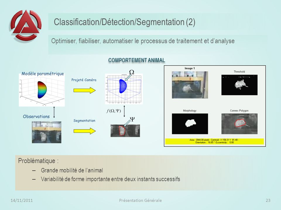 Classification/Détection/Segmentation (2)