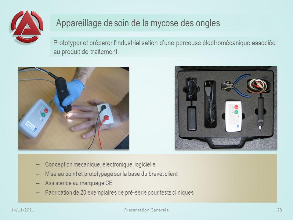 Appareillage de soin de la mycose des ongles