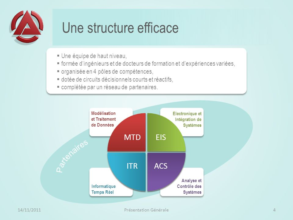 Une structure efficace