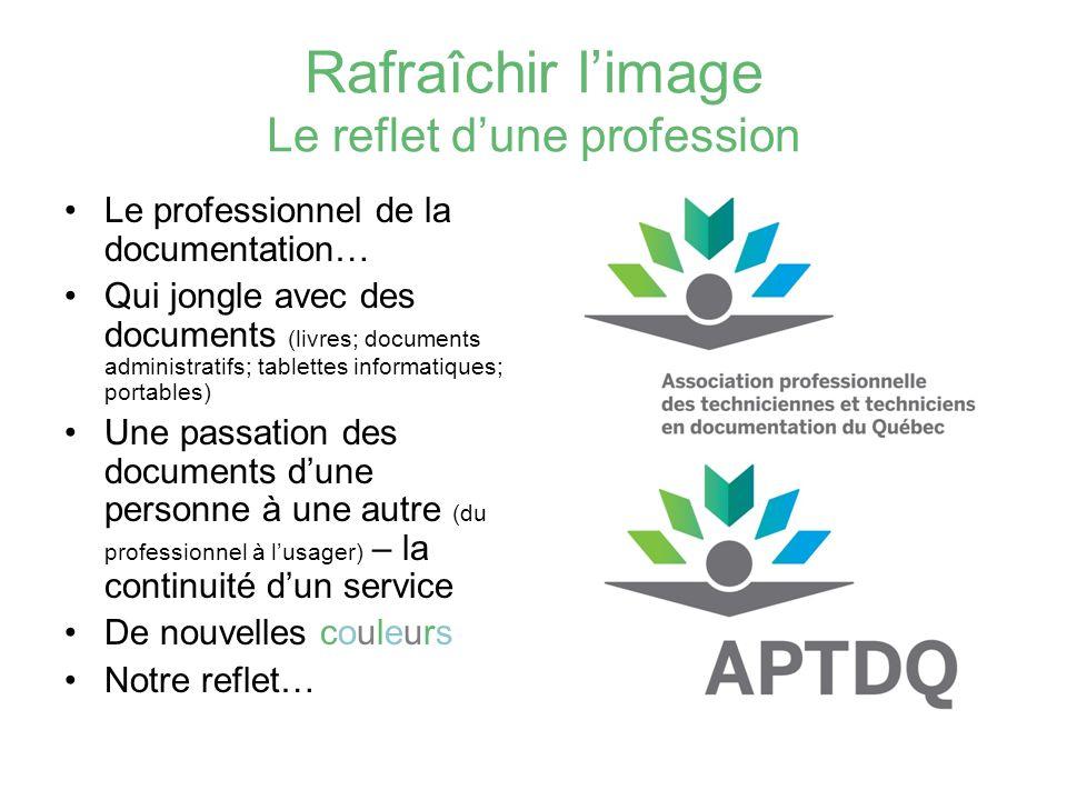 Rafraîchir l'image Le reflet d'une profession