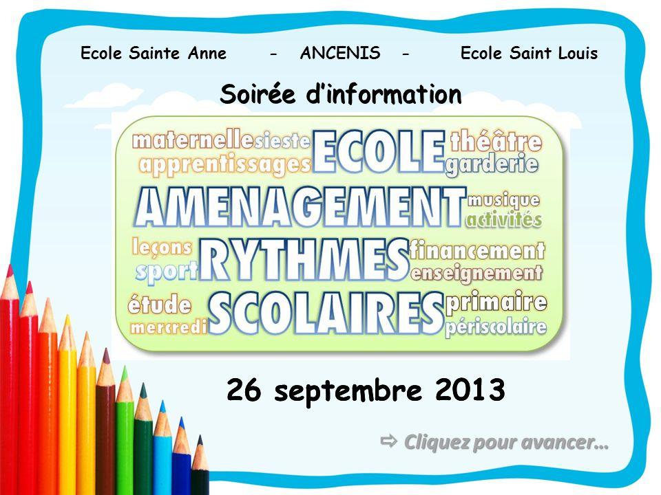 Ecole Sainte Anne - ANCENIS - Ecole Saint Louis