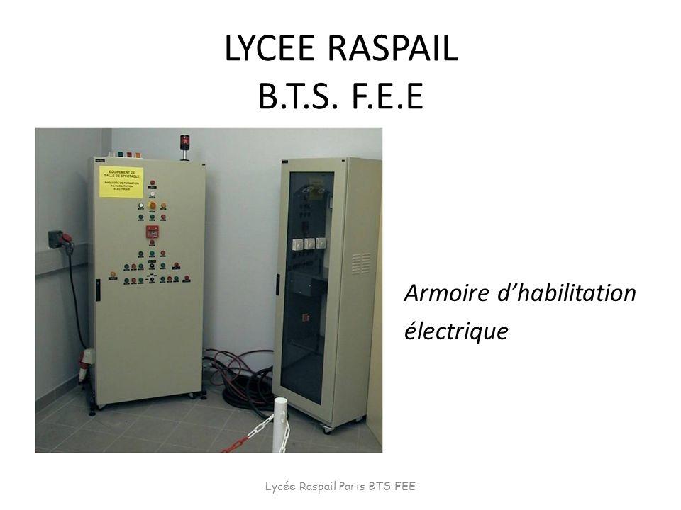 Lycée Raspail Paris BTS FEE