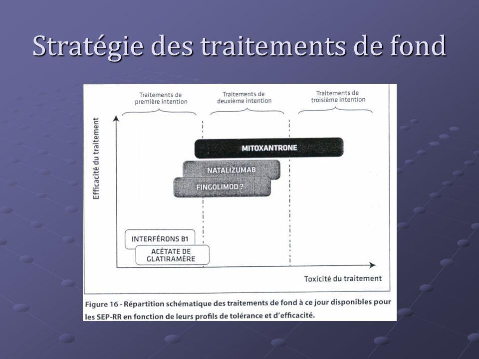 Stratégie des traitements de fond