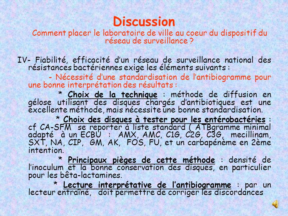 Discussion Comment placer le laboratoire de ville au coeur du dispositif du réseau de surveillance