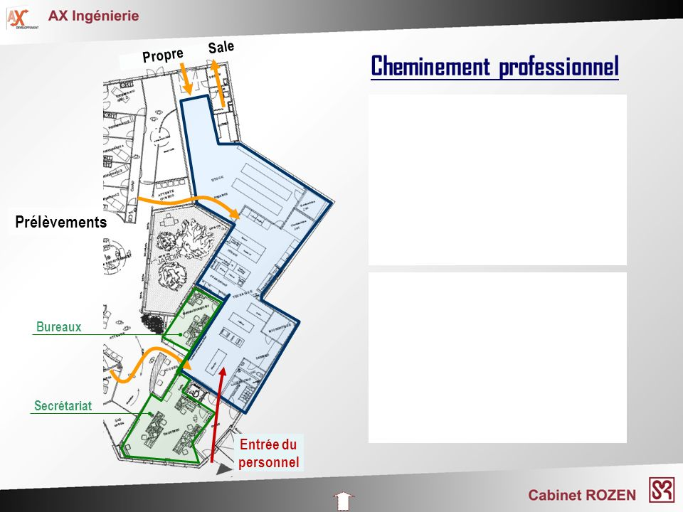 Cheminement professionnel