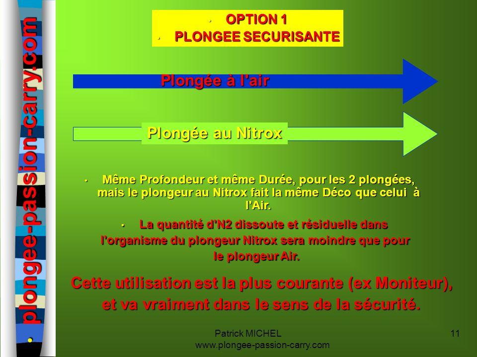 plongee-passion-carry.com Plongée à l air Plongée au Nitrox