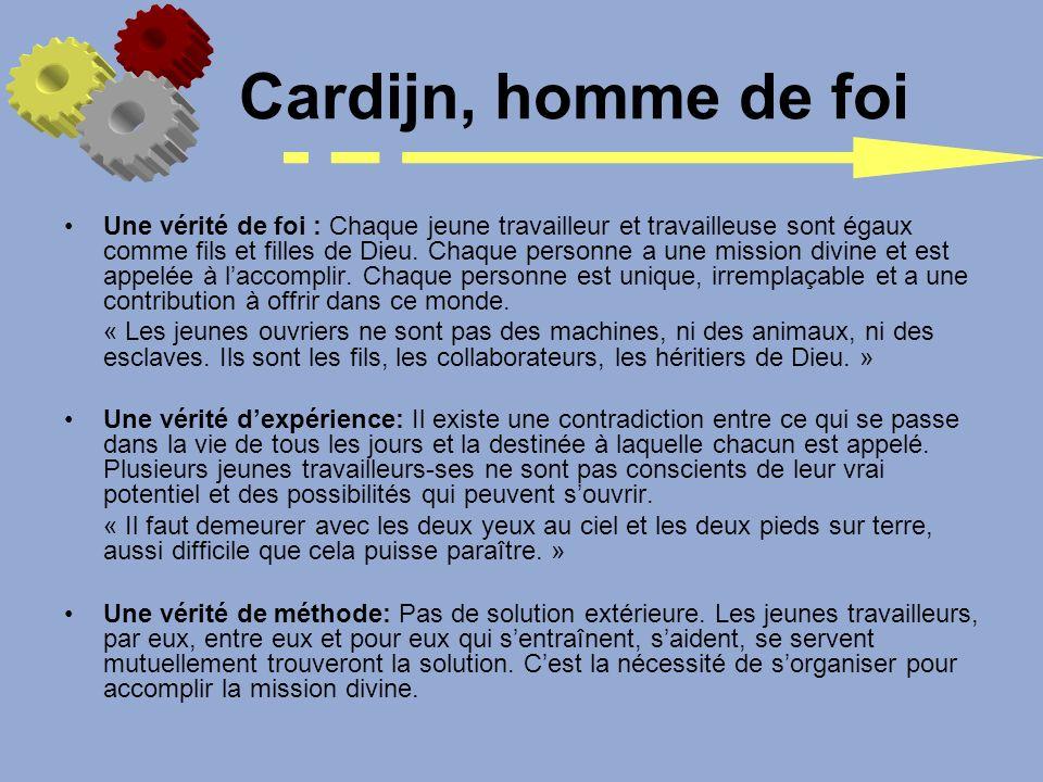 Cardijn, homme de foi
