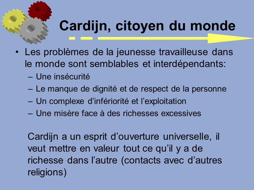 Cardijn, citoyen du monde