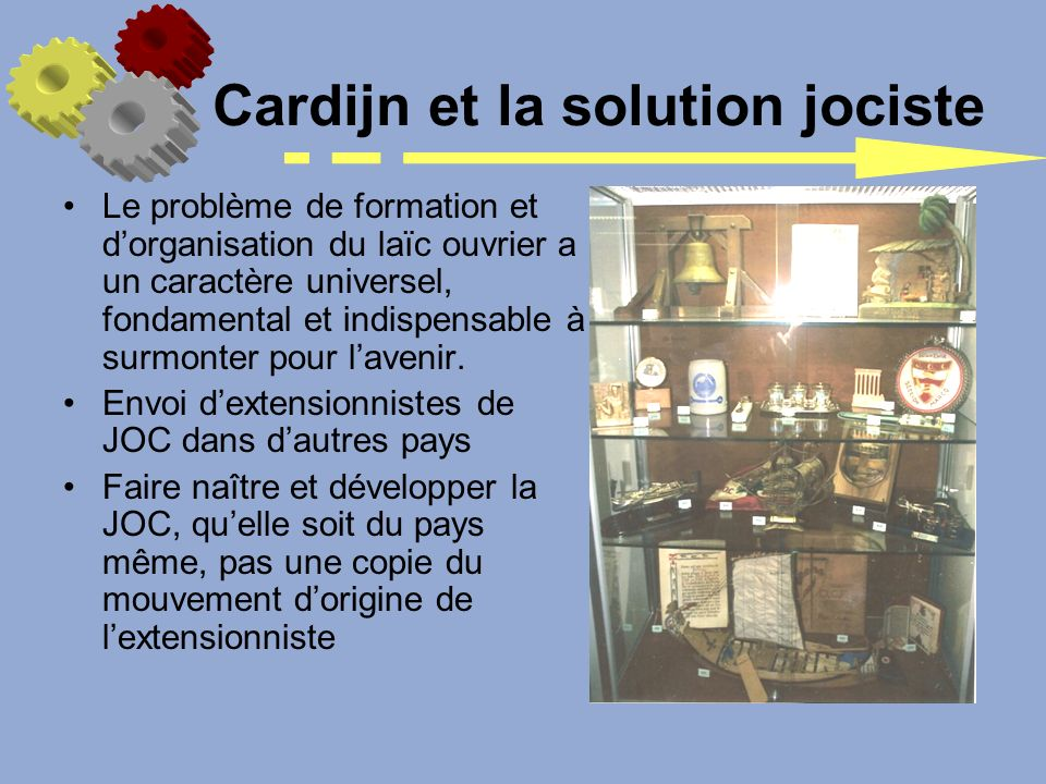 Cardijn et la solution jociste