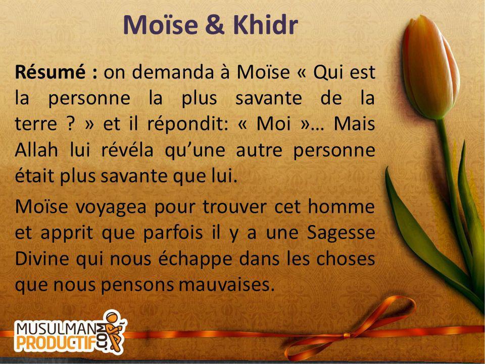Moïse & Khidr