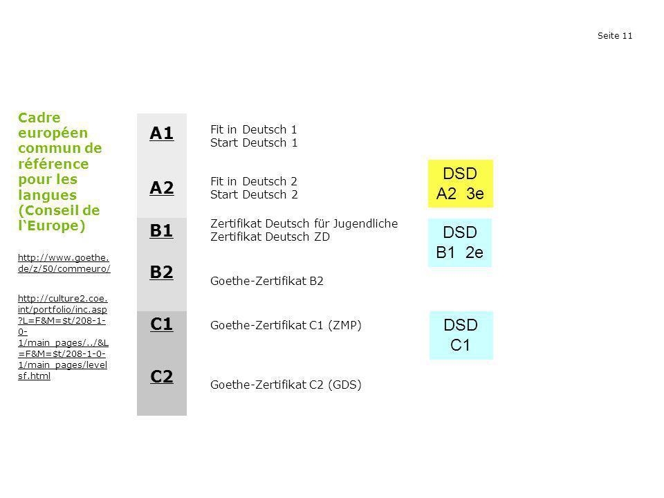 A1 DSD A2 3e A2 B1 DSD B1 2e B2 C1 DSD C1 C2