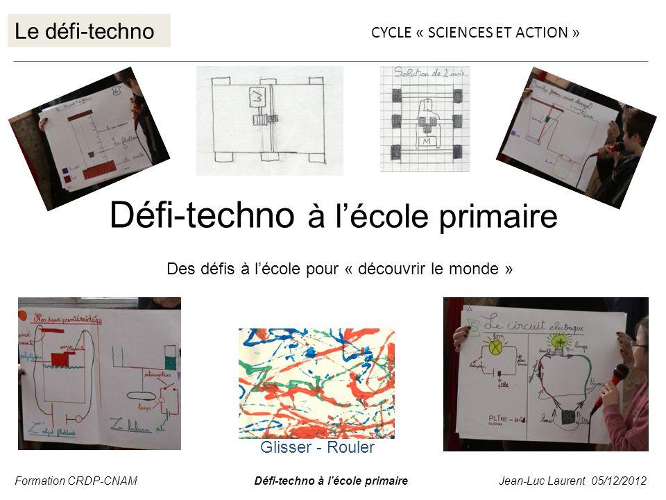 Défi-techno à l'école primaire