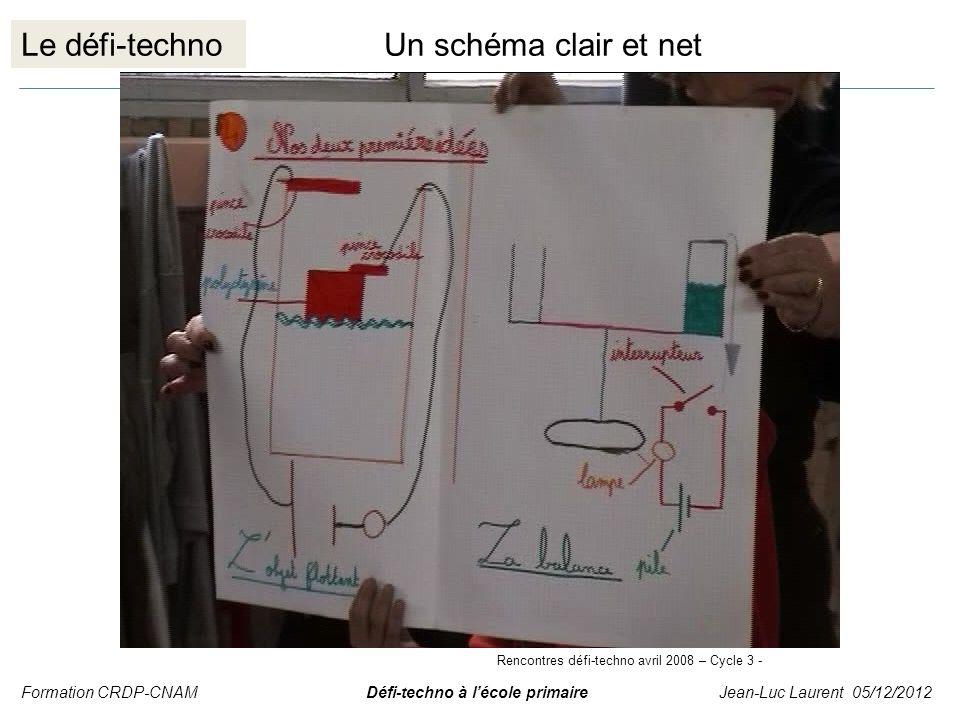 Le défi-techno Un schéma clair et net