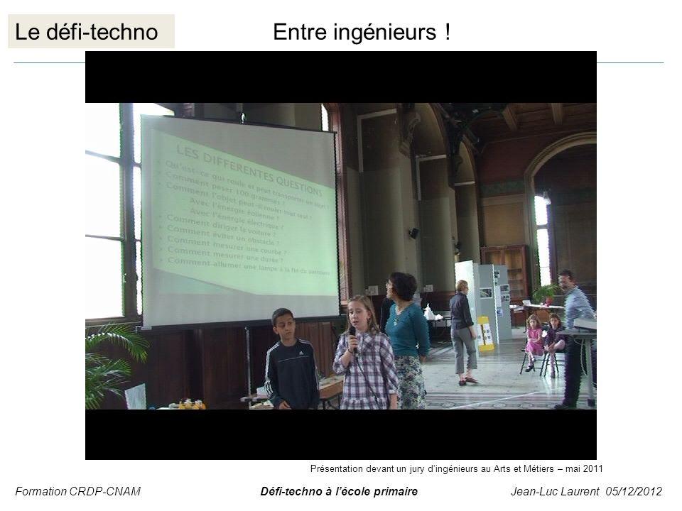 Le défi-techno Entre ingénieurs !