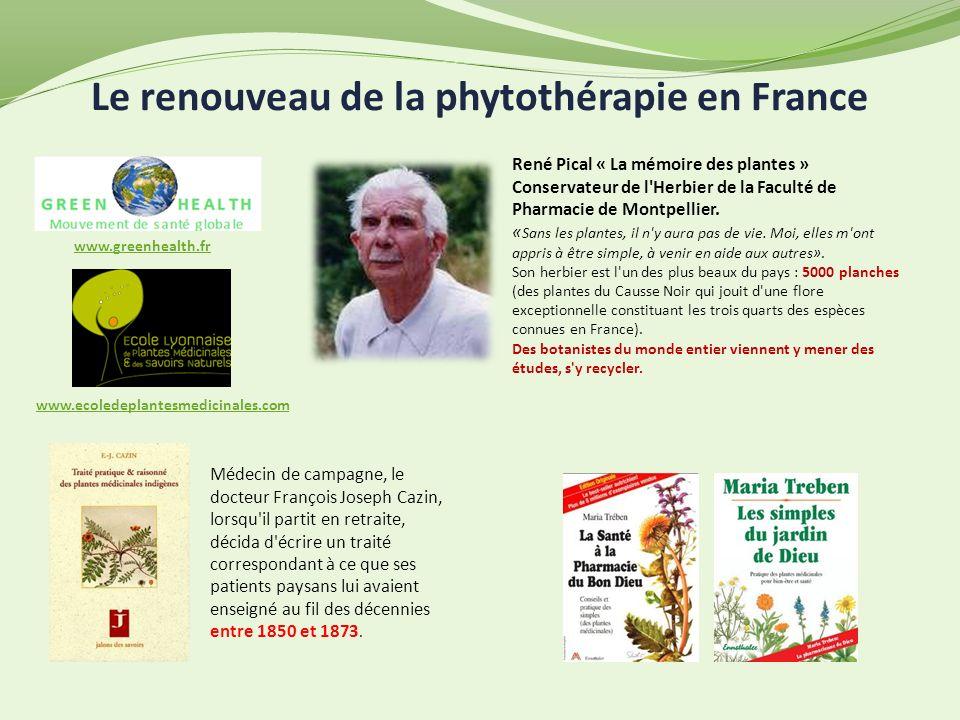 Le renouveau de la phytothérapie en France