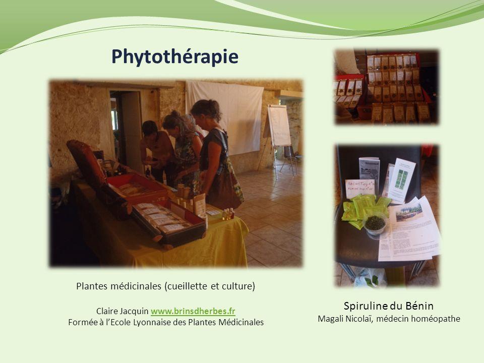 Phytothérapie Spiruline du Bénin