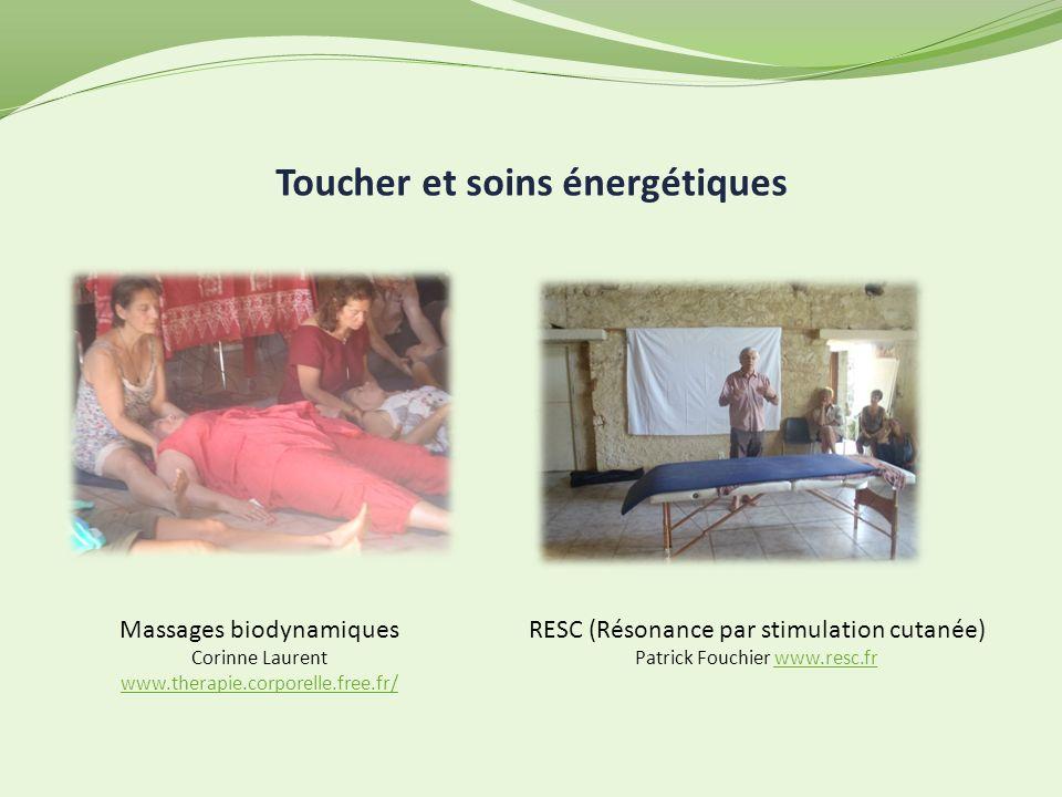 Toucher et soins énergétiques