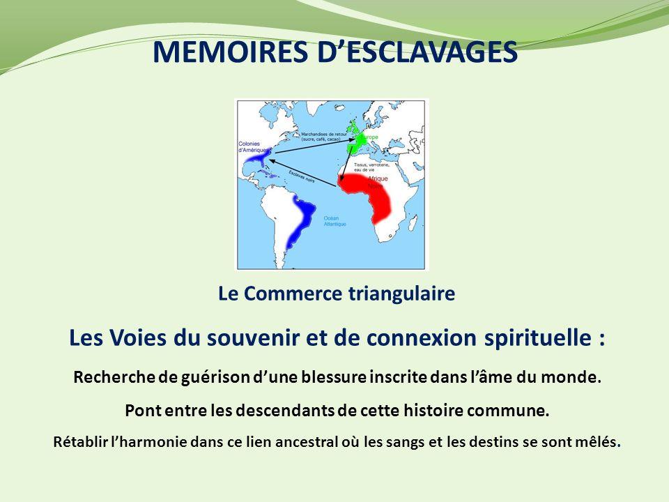 MEMOIRES D'ESCLAVAGES