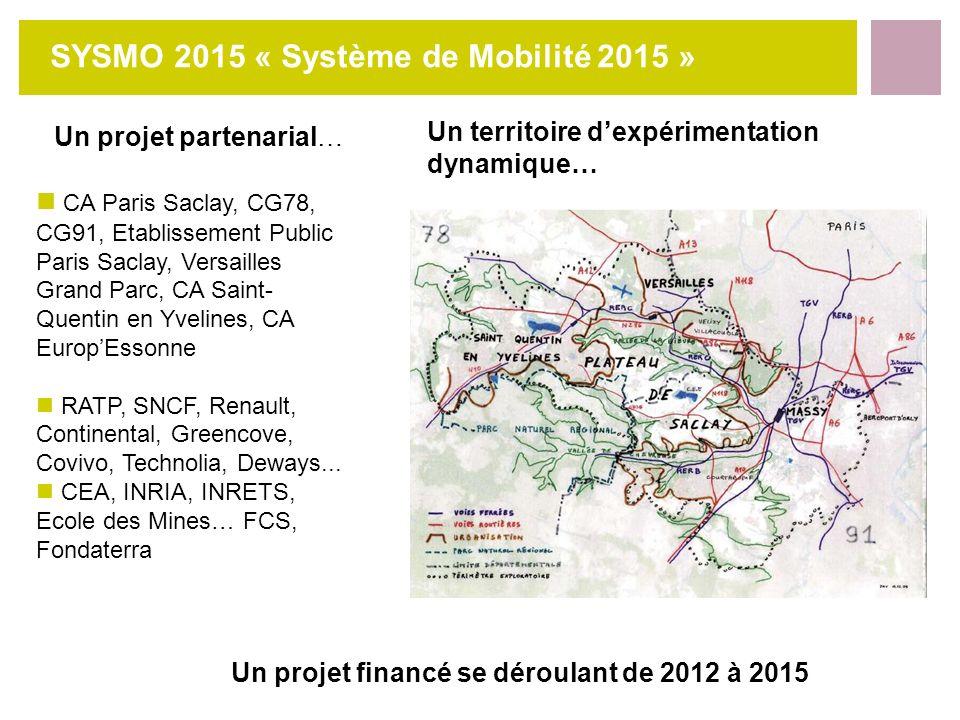 SYSMO 2015 « Système de Mobilité 2015 »