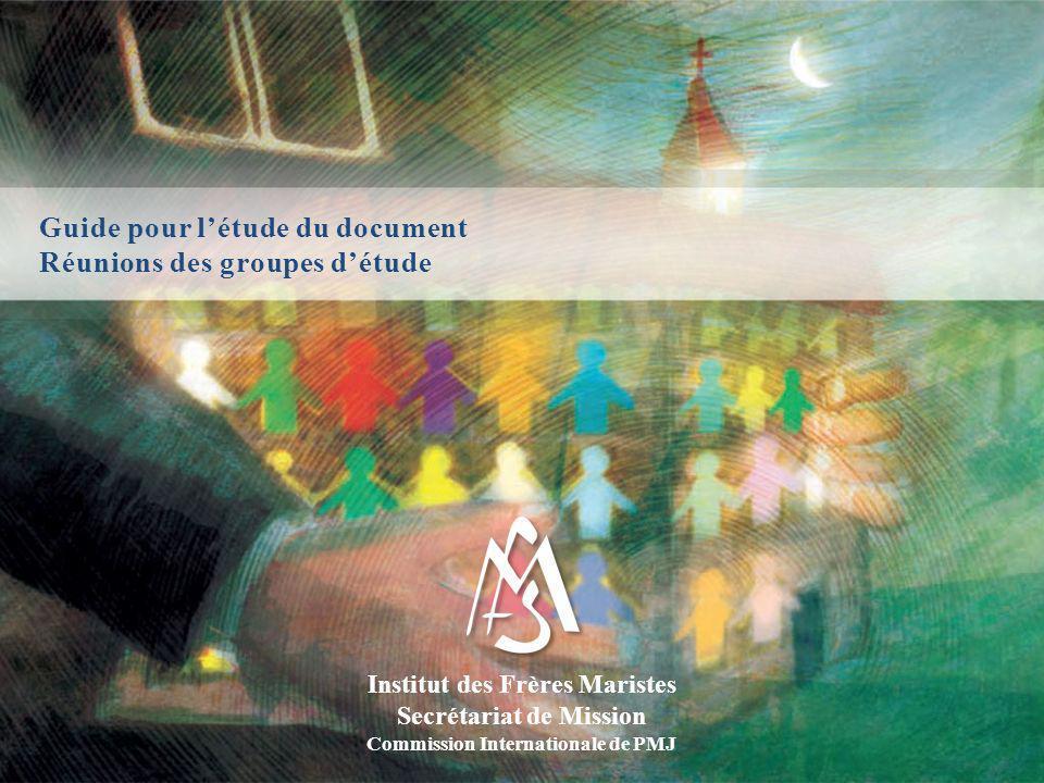 Guide pour l'étude du document Réunions des groupes d'étude