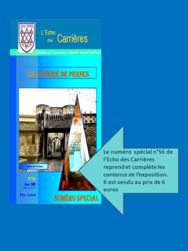 Le numéro spécial n°56 de l'Echo des Carrières reprend et complète les contenus de l'exposition.