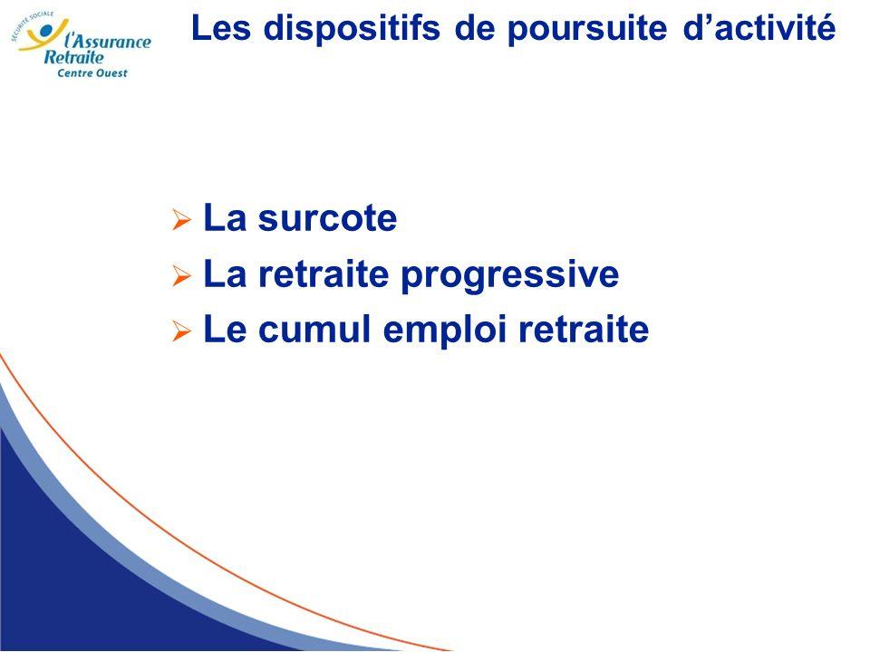 La retraite progressive Le cumul emploi retraite