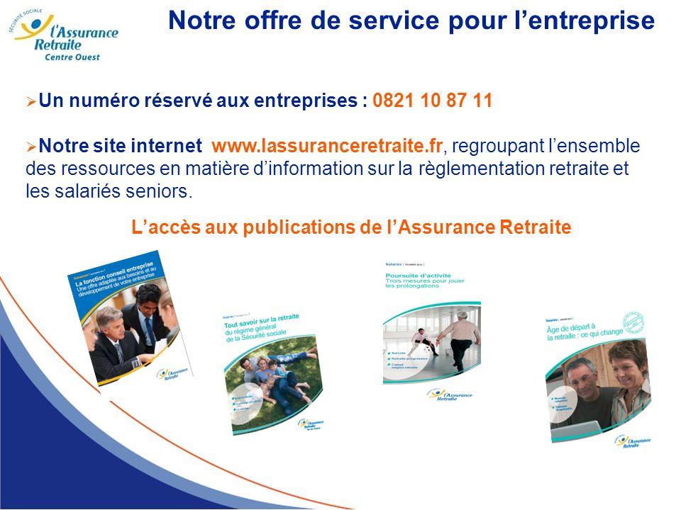 Notre offre de service pour l'entreprise