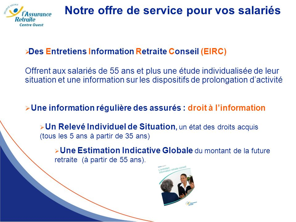 Notre offre de service pour vos salariés