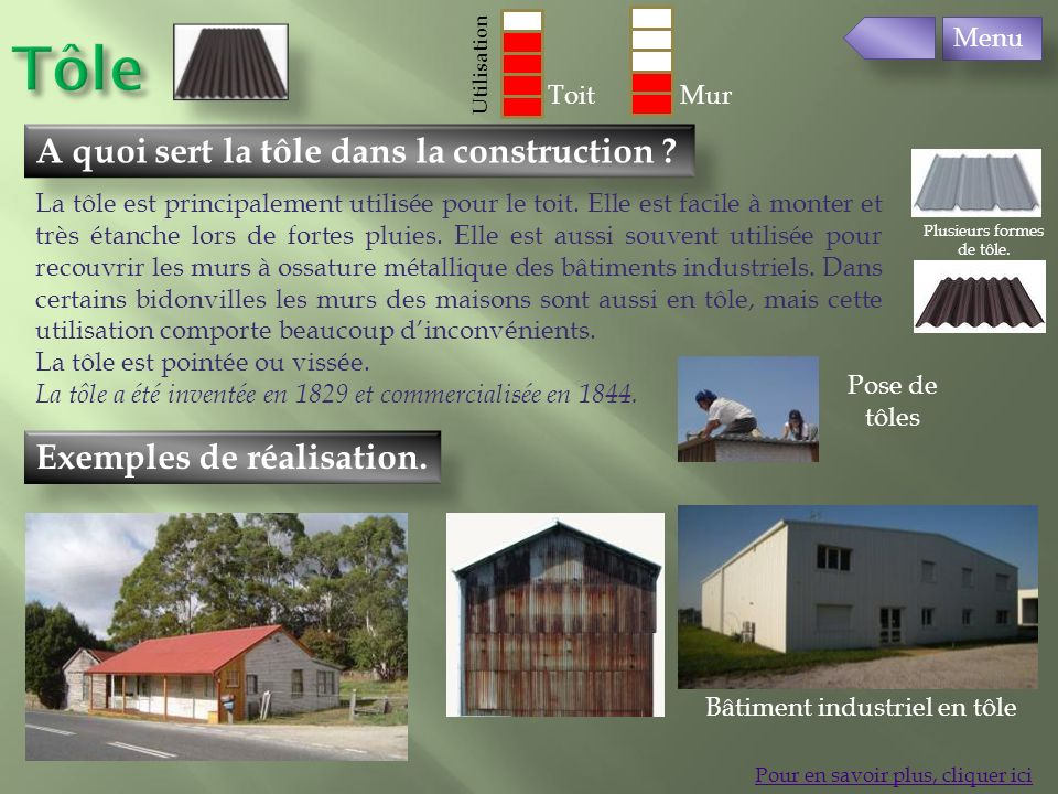 les matériaux de construction - ppt télécharger - Avantage Inconvenient Maison Ossature Metallique