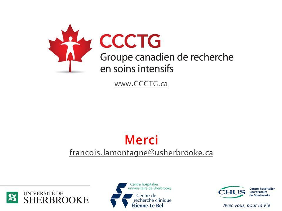 www.CCCTG.ca Merci francois.lamontagne@usherbrooke.ca