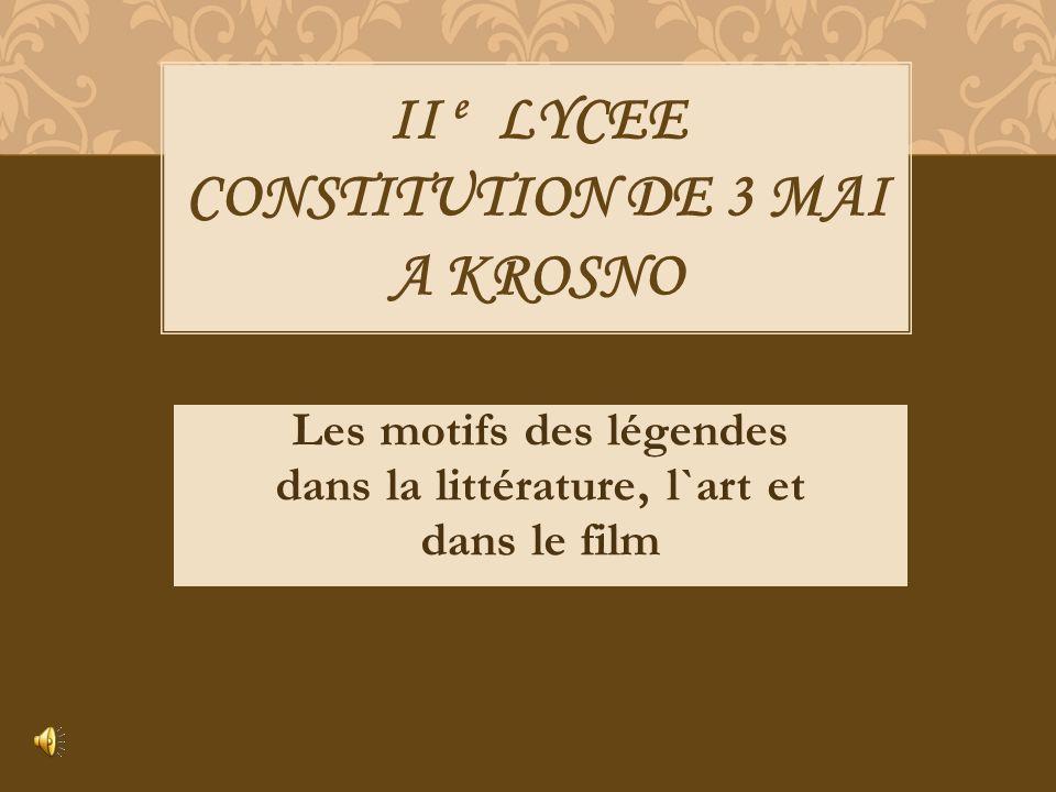 II e LYCEE CONSTITUTION DE 3 MAI A KROSNO