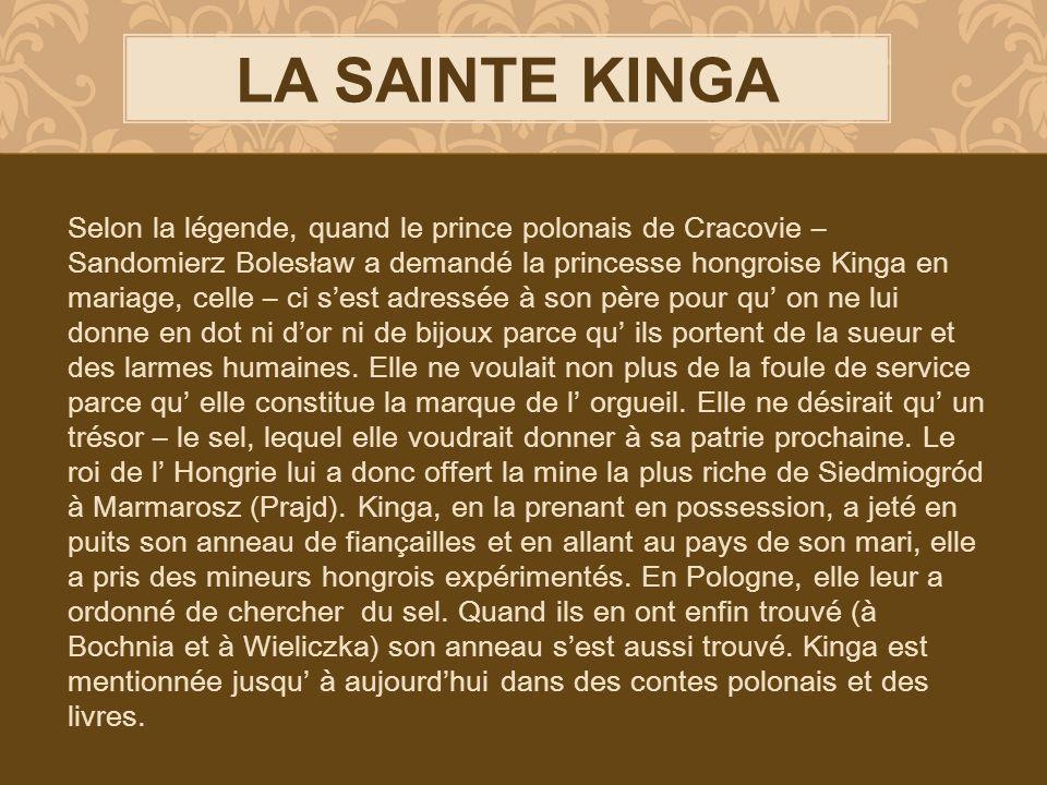 LA SAINTE KINGA