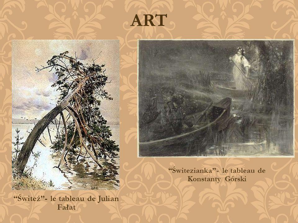 ART Świteź - le tableau de Julian Fałat
