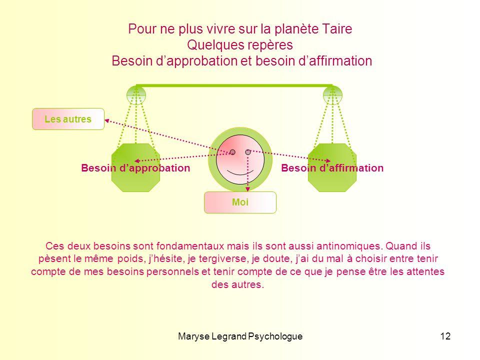 Maryse Legrand Psychologue