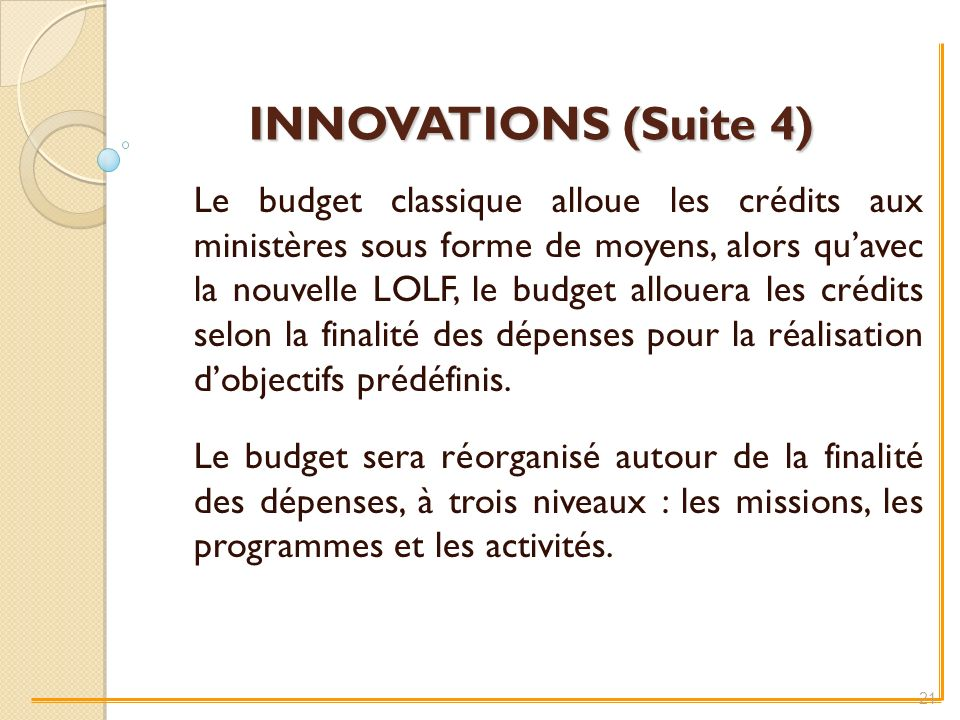 INNOVATIONS (Suite 4)